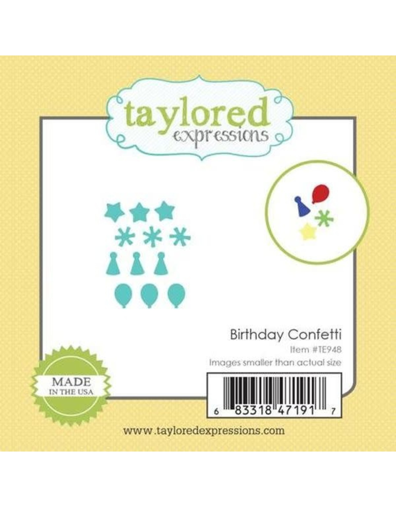 Birthday Confetti - Little Bits Dies