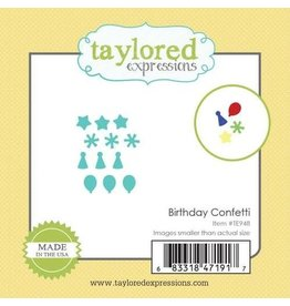 Taylored Expressions Birthday Confetti - Little Bits Dies