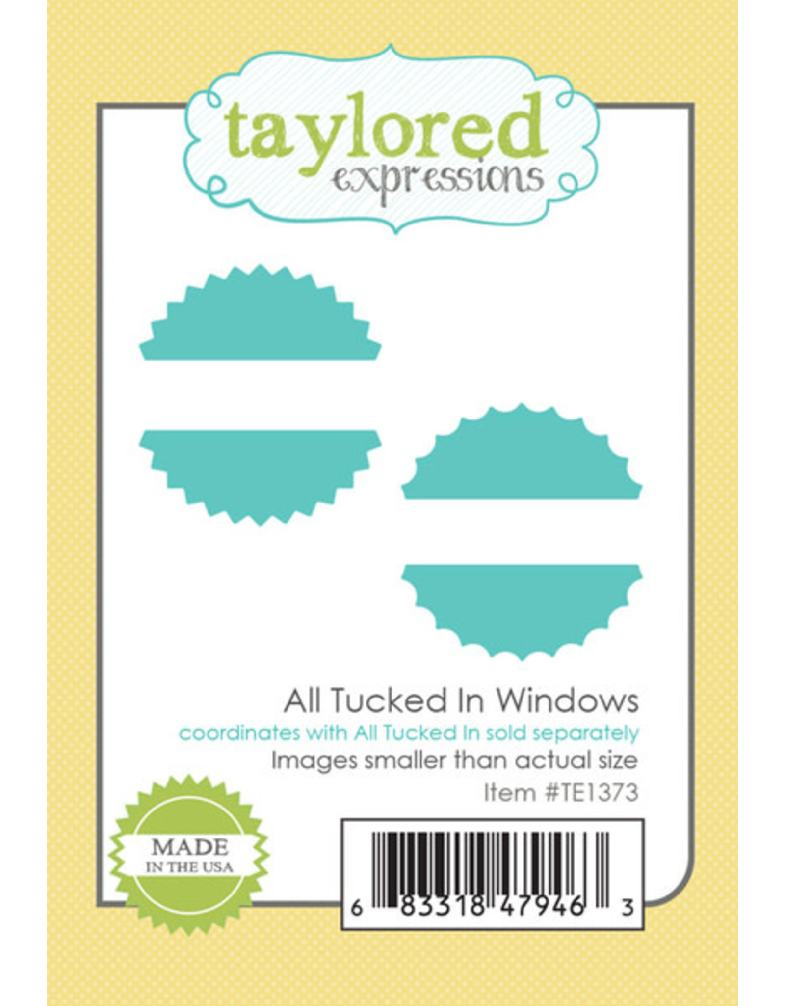 Taylored Expressions All Tucked In Windows -  Die