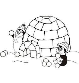 DRS Designs Penguin Snowball Blast