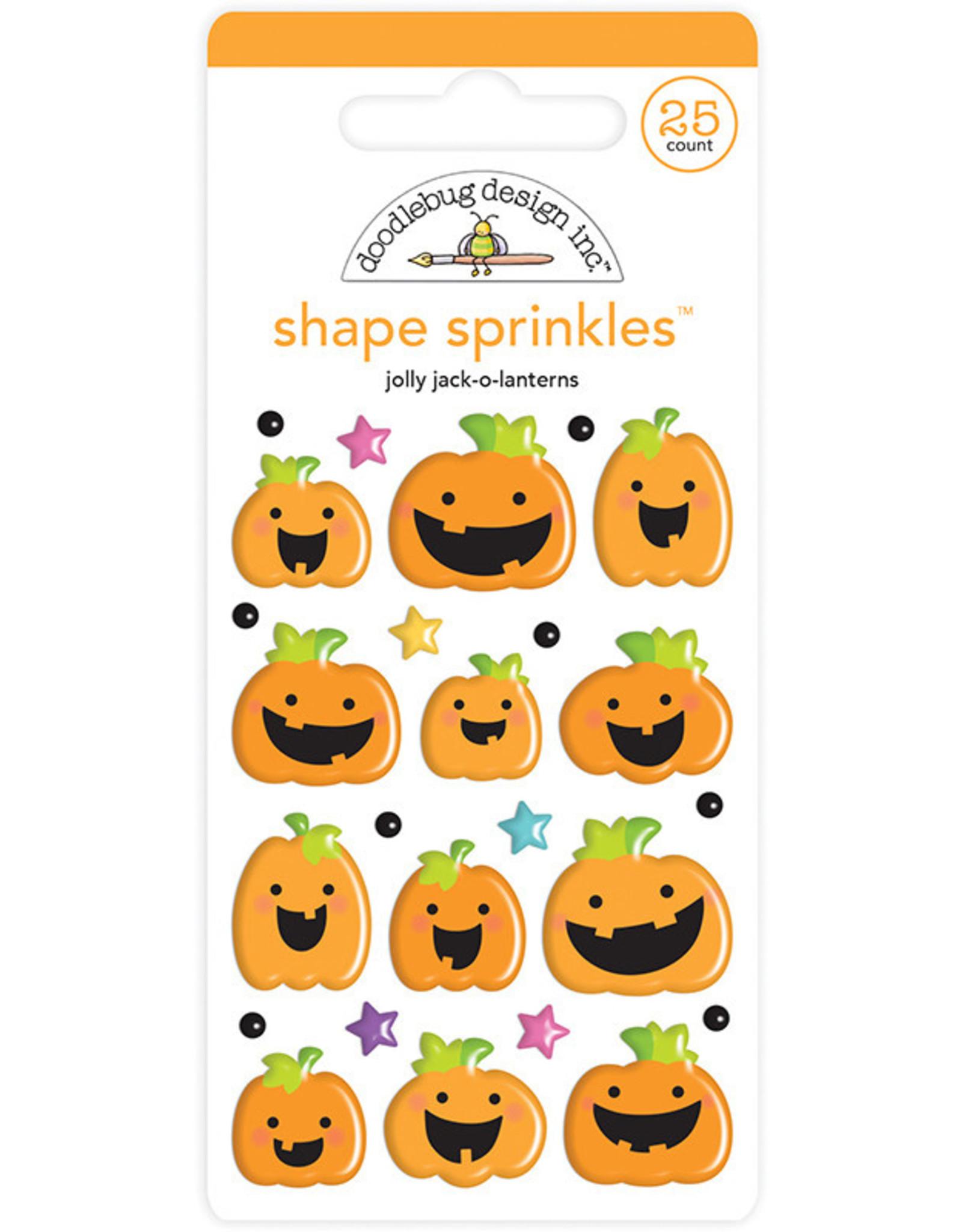 Doodlebug Design Inc. Jolly Jack-O-Lanterns - Sprinkles