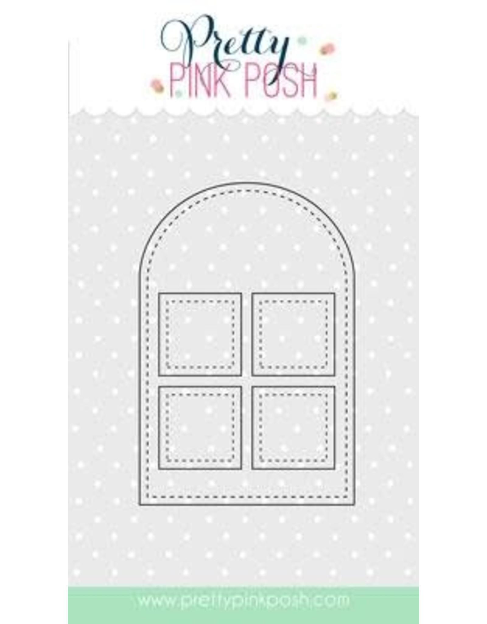 Pretty Pink Posh Stitched Duo - 3 Die Set