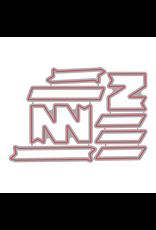Honey Bee Stamps Angular Banners - Dies