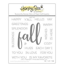 Honey Bee Stamps 'Fall' - Clear Stamp Set