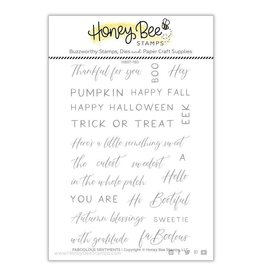 Honey Bee Stamps Faboolous Sentiments - Clear Stamps