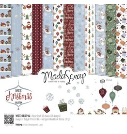Elizabeth Craft Designs White Christmas - 6x6 Paper Pad