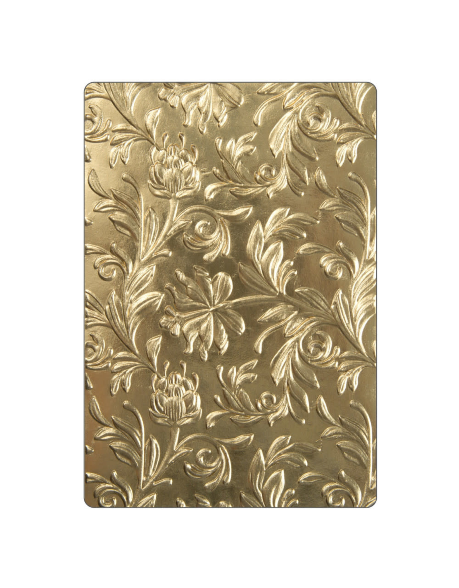 Ellison/Sizzix Botanical - 3D Texture Fades (A6) Embossing Folder
