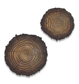 Ellison/Sizzix Tree Rings (Mini) - 3D Texture Fades