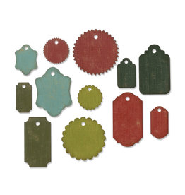 Ellison/Sizzix Gift Tags - Thinlits