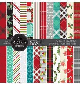 Memory Box Dashing Holiday 6x6 Paper Pad