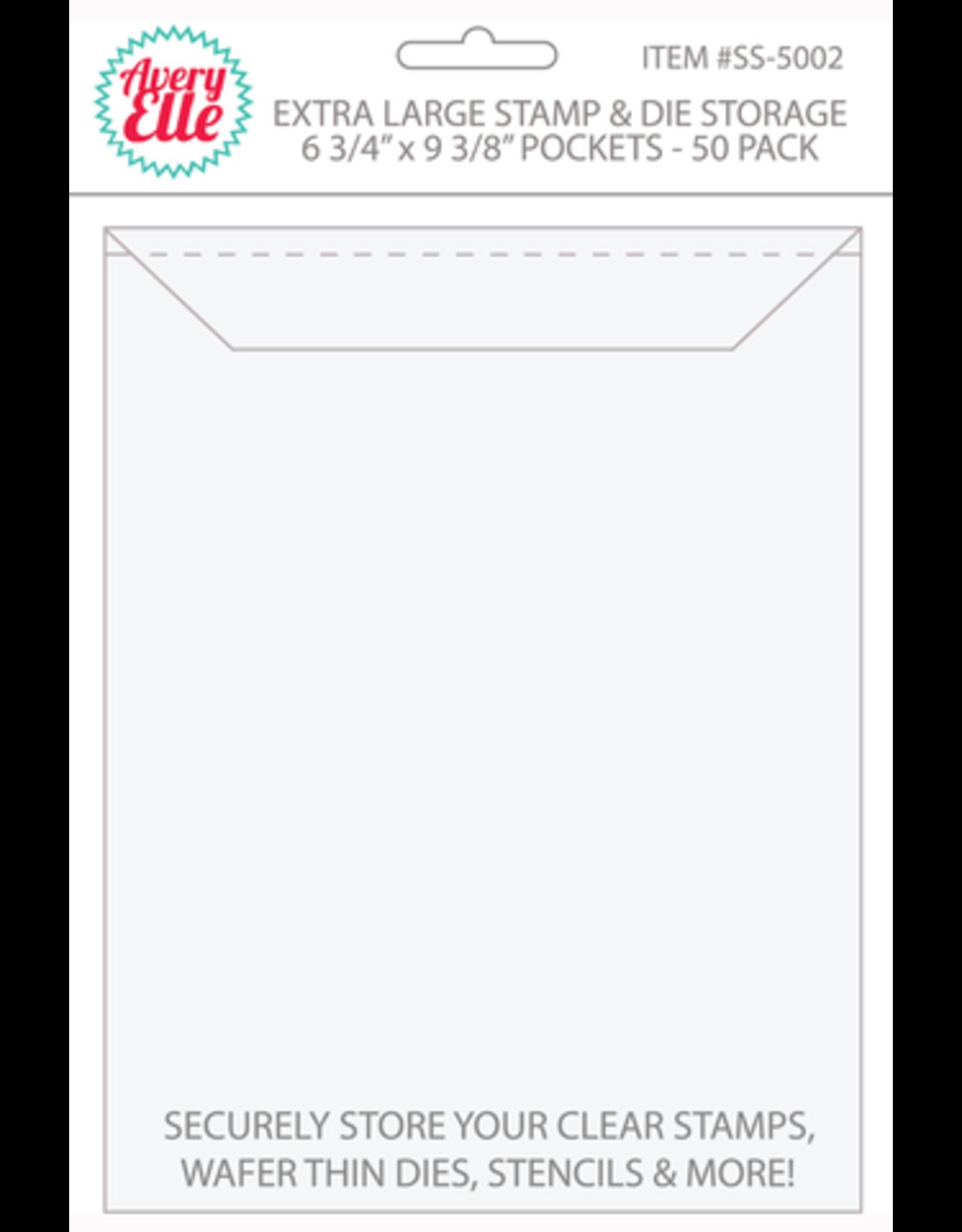 Avery Elle Stamp & Die Storage Pockets Extra Large