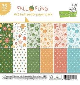 Lawn Fawn Fall Fling 6x6 Petite Paper Pack