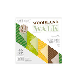 Craft Perfect Woodland Walk - 6x6 Paper Pad