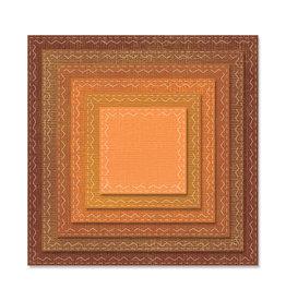 Ellison/Sizzix Stitched Squares - Framelits (RETIRED) (25%)