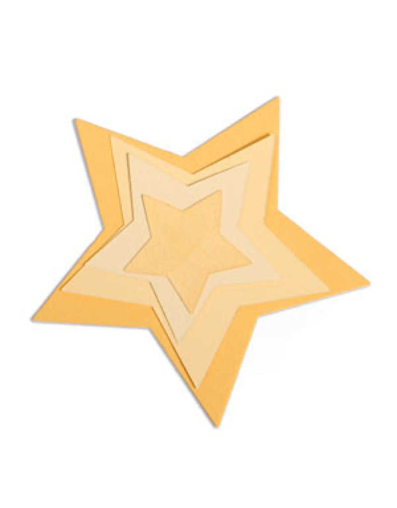 Ellison/Sizzix Stars - Framelits