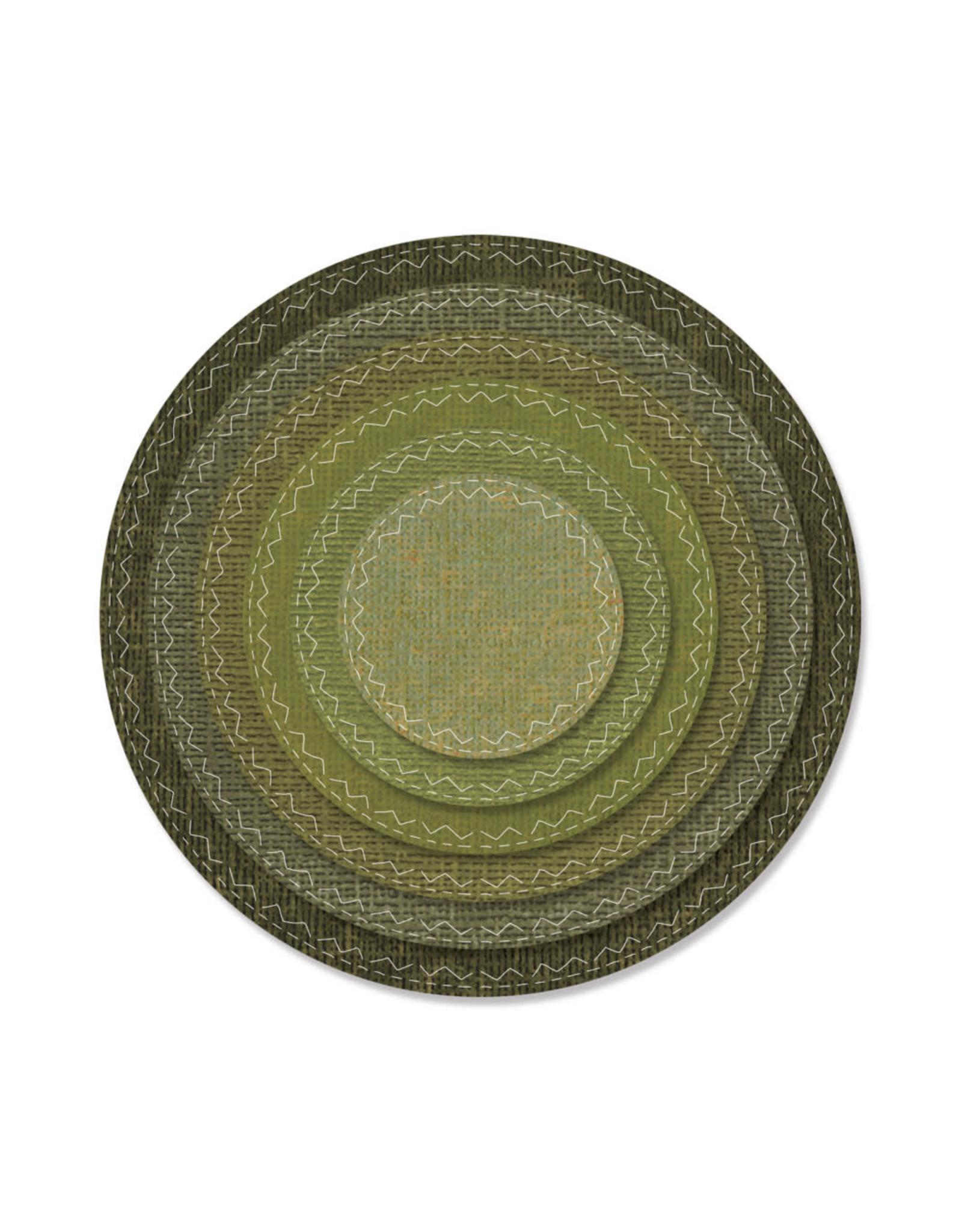 Ellison/Sizzix Stitched Circles - Framelits (RETIRED) (25%)