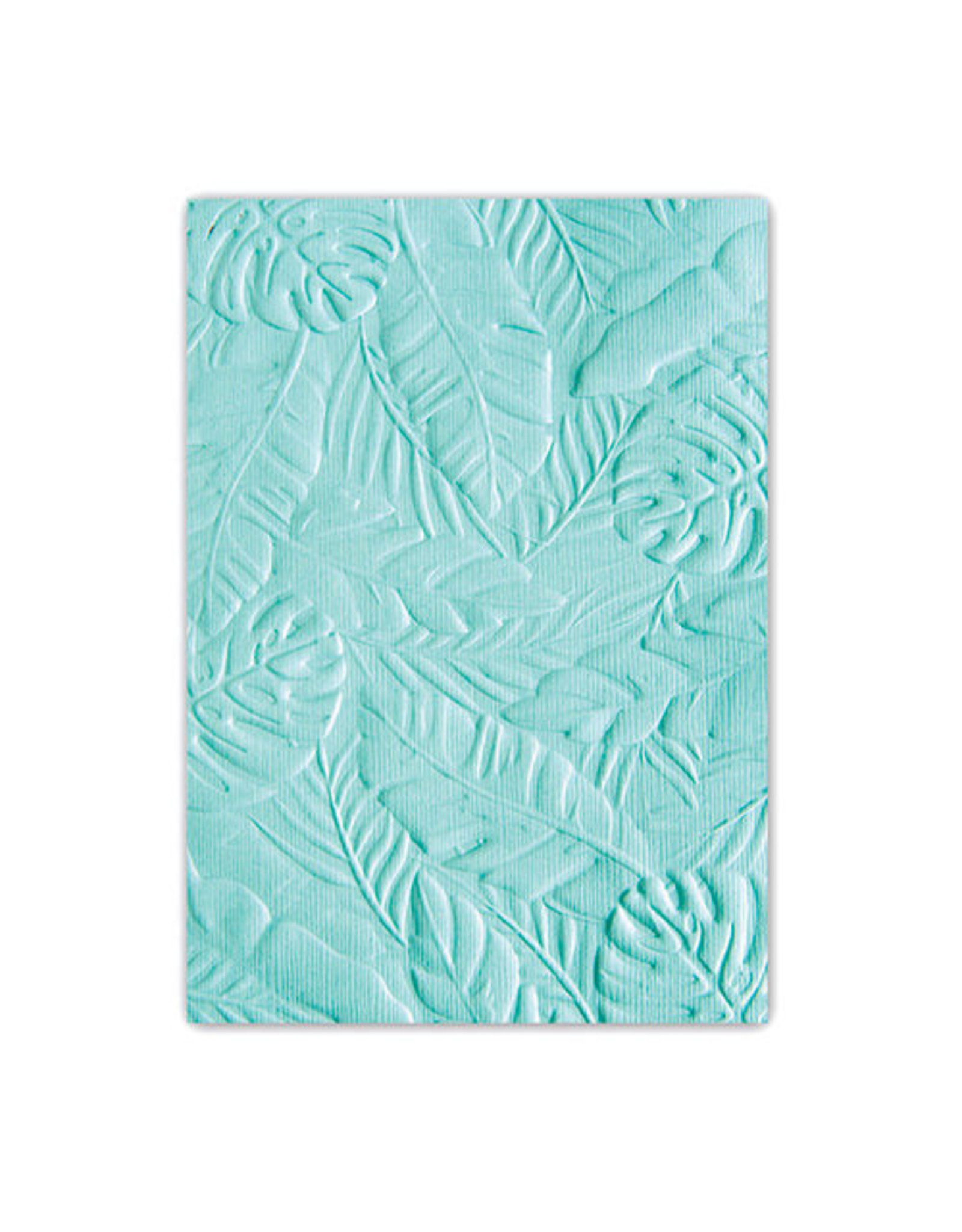Ellison/Sizzix Tropical Leaves - 3D Textured Impressions (A6) Embossing Folder