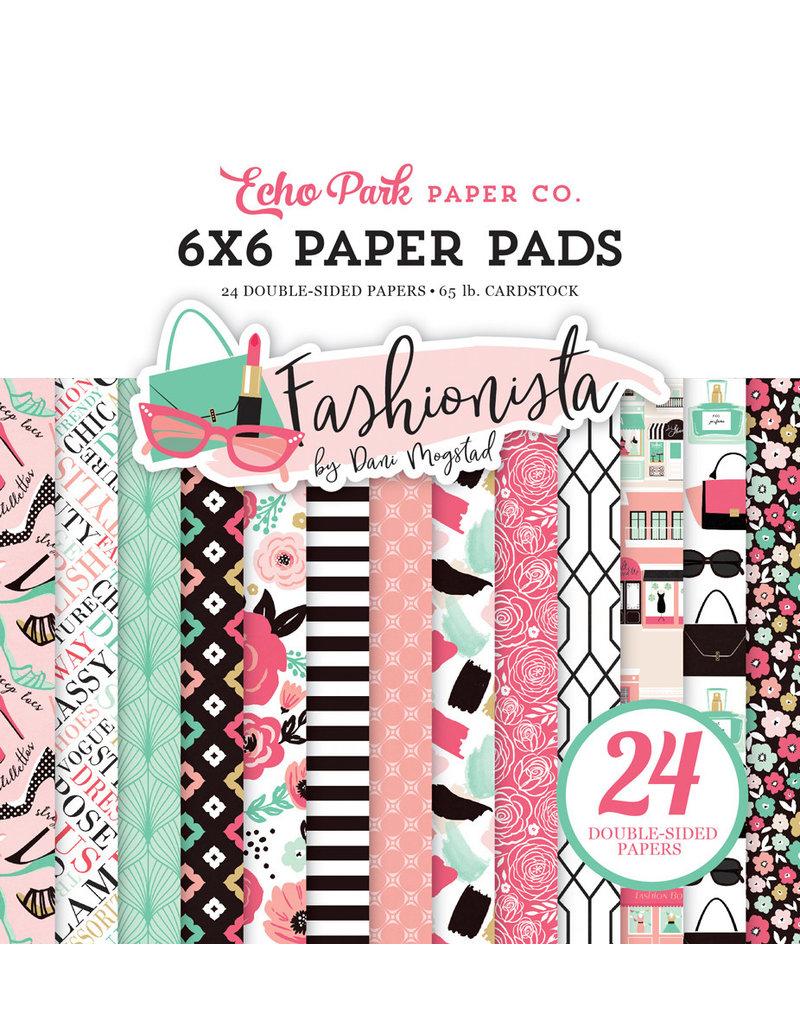 Echo Park Fashionista - 6x6 Paper Pad