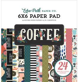 Echo Park Coffee - 6x6 Paper Pad (40%)