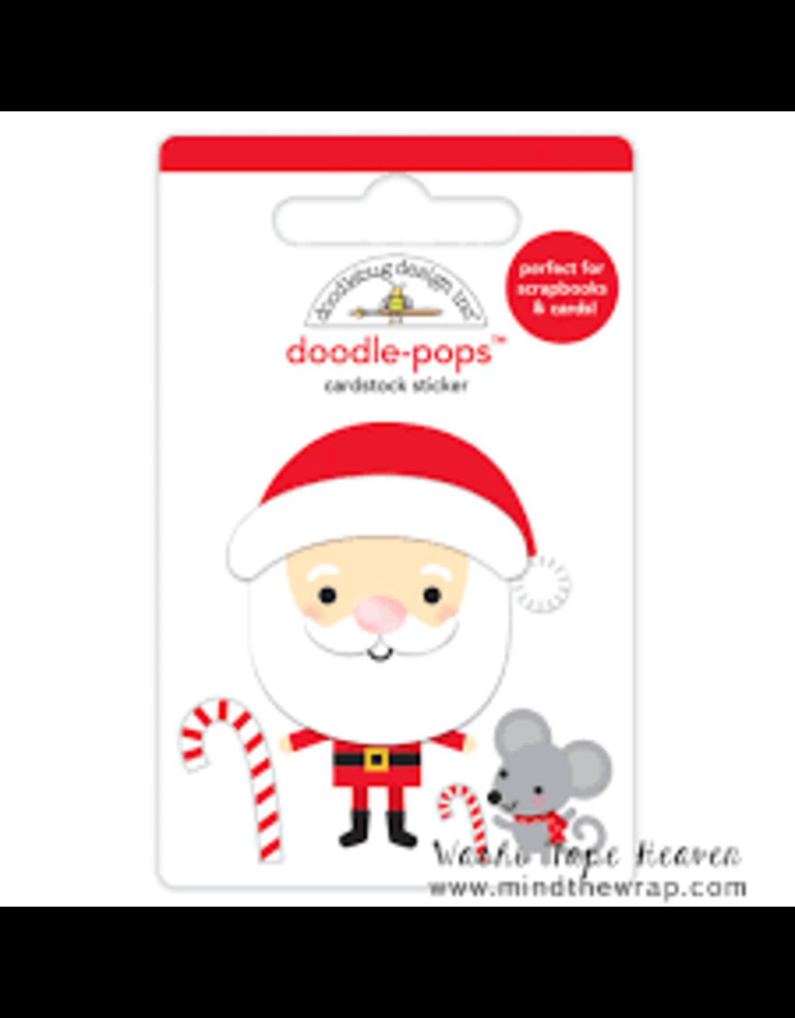 Doodlebug Design Inc. Doodle-Pops - Christmas Magic - Sweet Santa