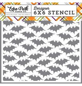 Echo Park Bats #2 - 6x6 Stencil