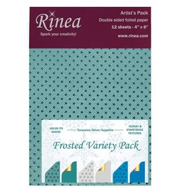 Rinea Frosted Foiled Paper Variety Pack