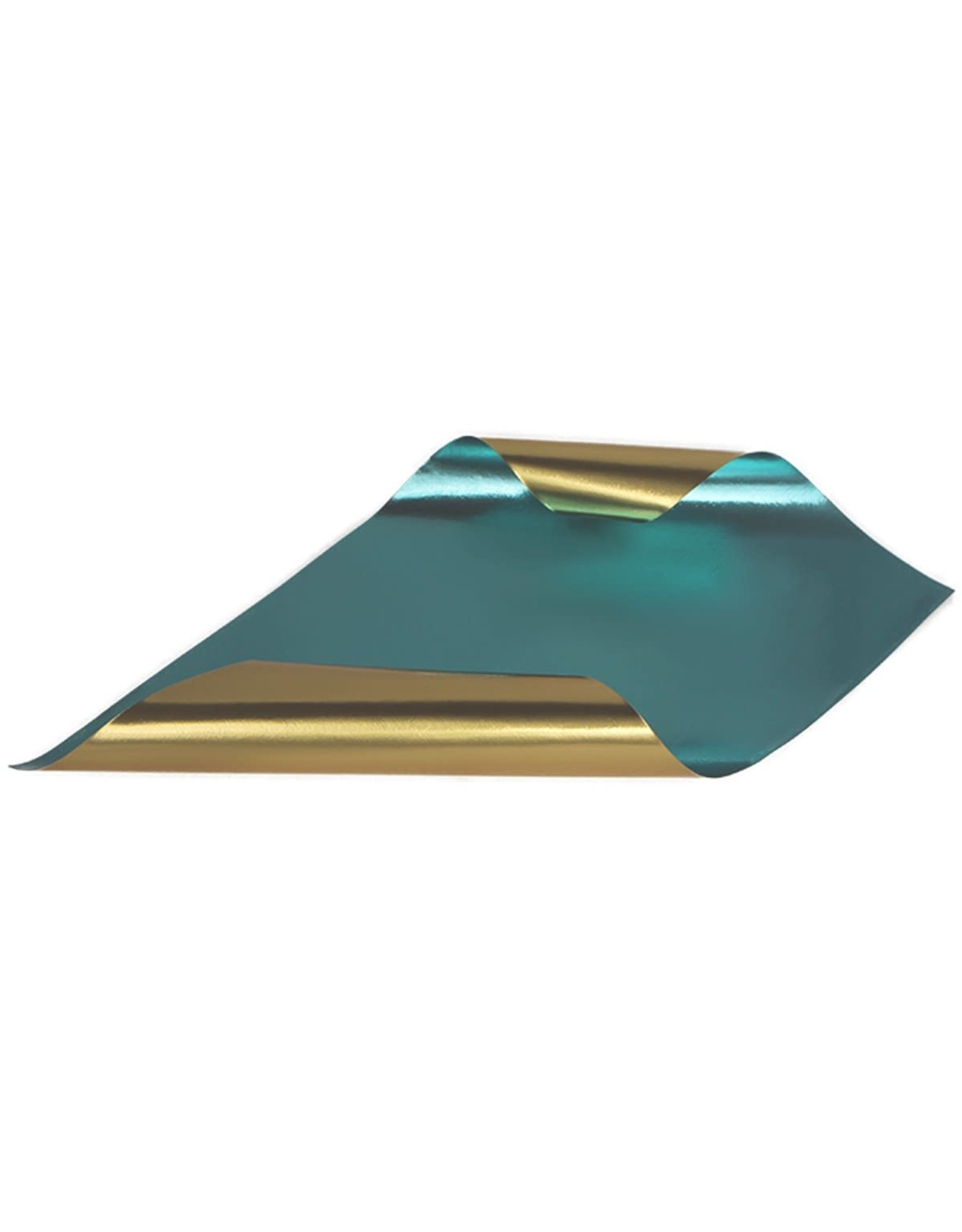 Rinea Turquoise/Gold Glossy Solid Crafter's Pack