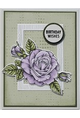 Technique Tuesday Sending Roses (Greenhouse Society) - Die Set