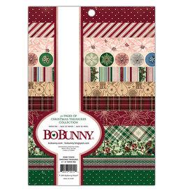 Bo Bunny Christmas Treasures - 6x8 Paper Pad