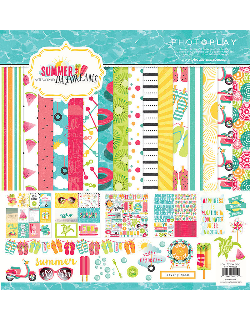 Photo Play Summer Daydreams Collection Pack