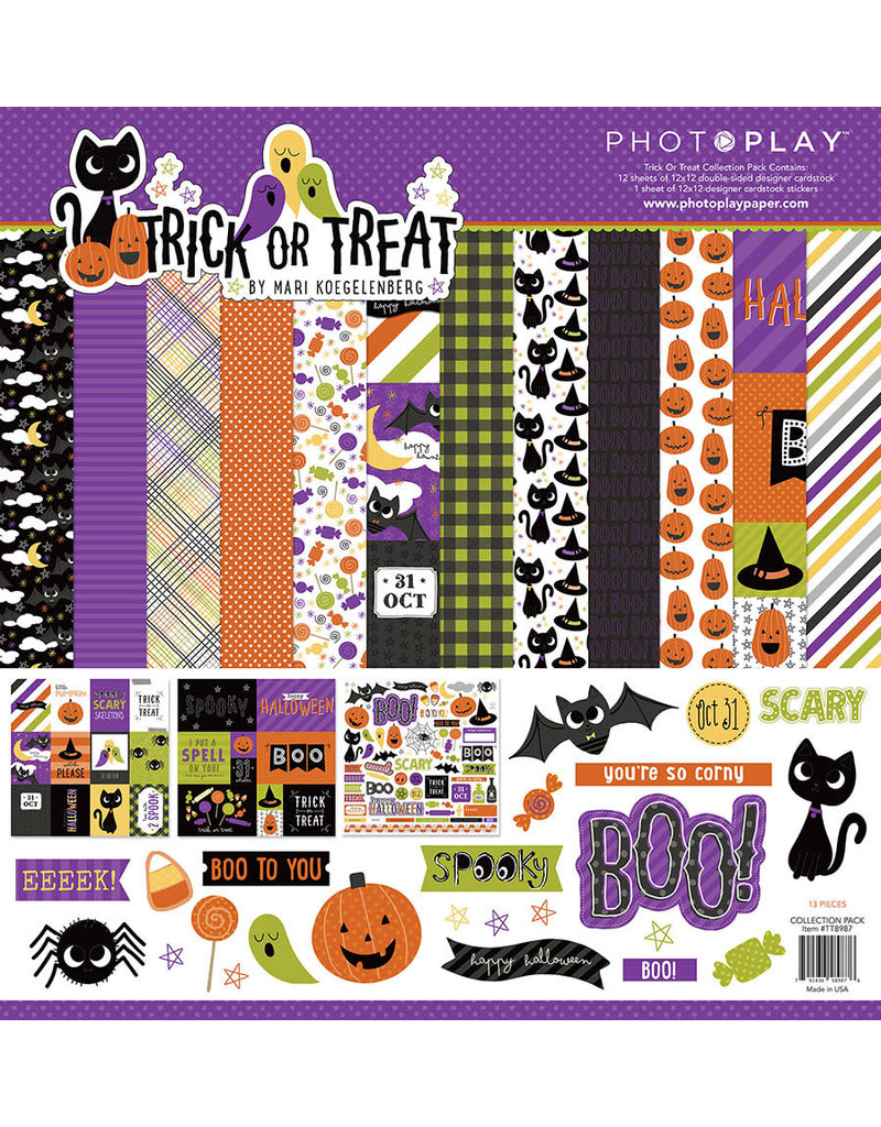 Photo Play Trick or Treat Collection Pack
