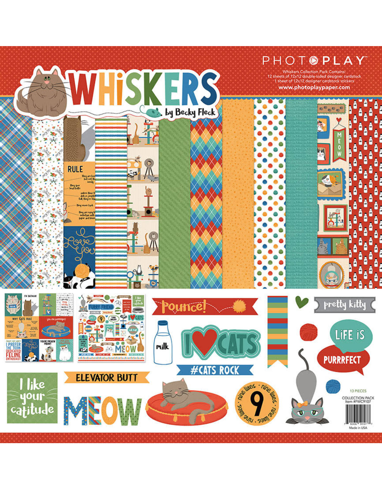 Photo Play Whiskers Collection Pack
