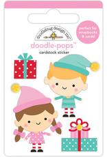Doodlebug Design Inc. Doodle Pops - Santa's Helpers