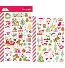 Doodlebug Design Inc. Mini Icons Stickers (Christmas Magic)