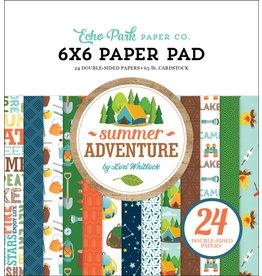 Echo Park Summer Adventure 6x6 Paper Pad