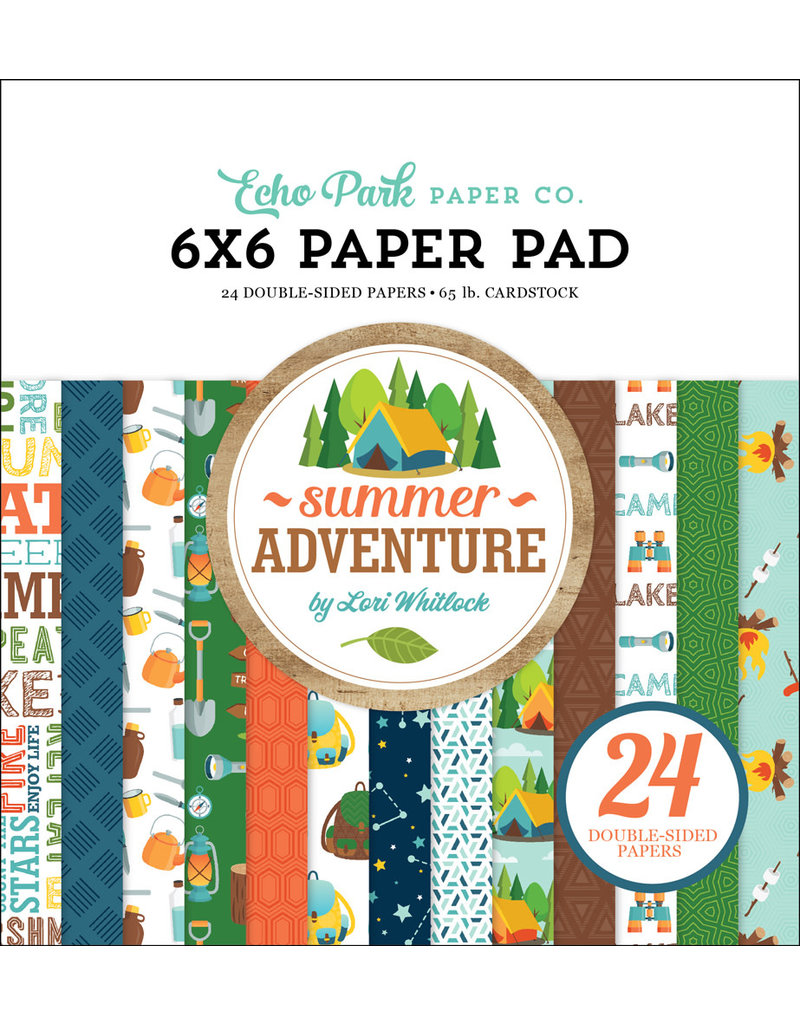 Echo Park Summer Adventure - 6x6 Paper Pad