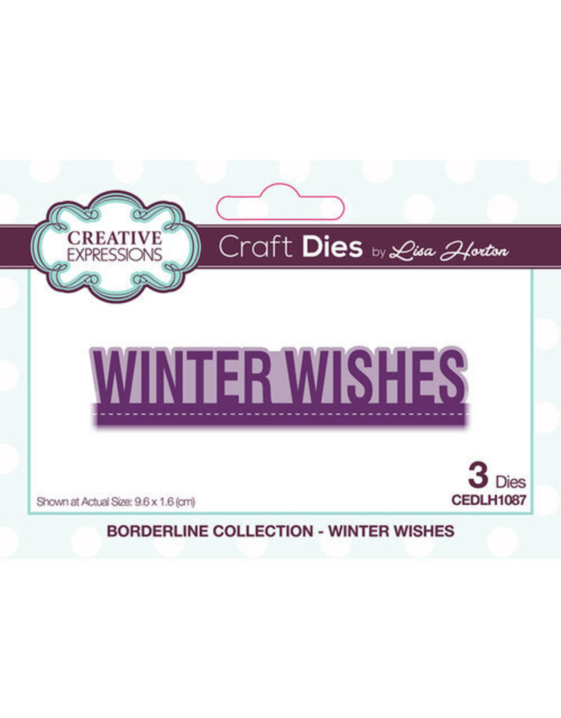 Creative Expressions Winter Wishes - Borderline Collection Die