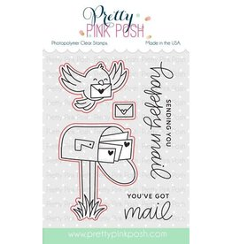 Pretty Pink Posh Happy Mail - Die Set