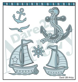Dare 2B Artzy Anchors Away - Die Set