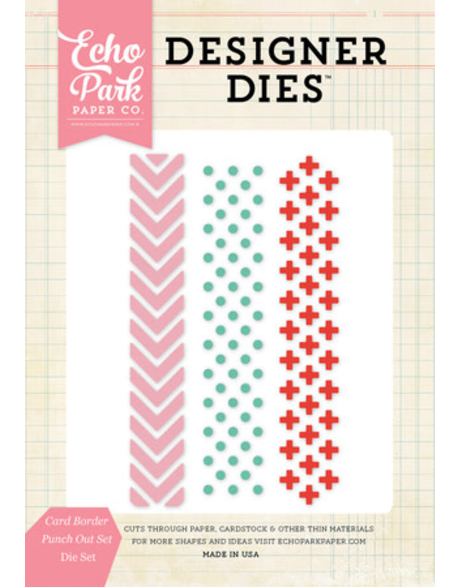 Echo Park Card Border Punch Out - Die (30%)