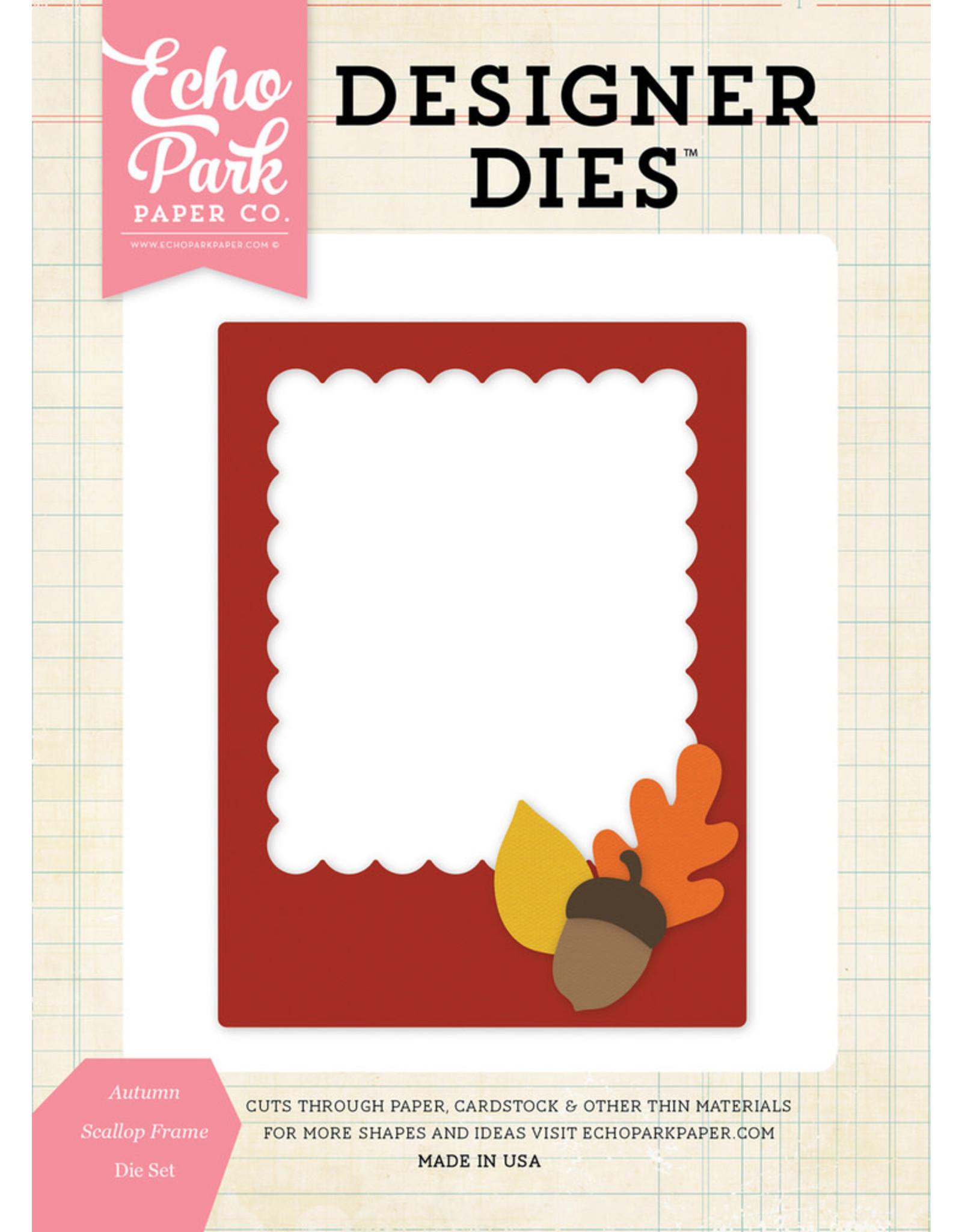 Echo Park Autumn Scallop Frame - Die (30%)