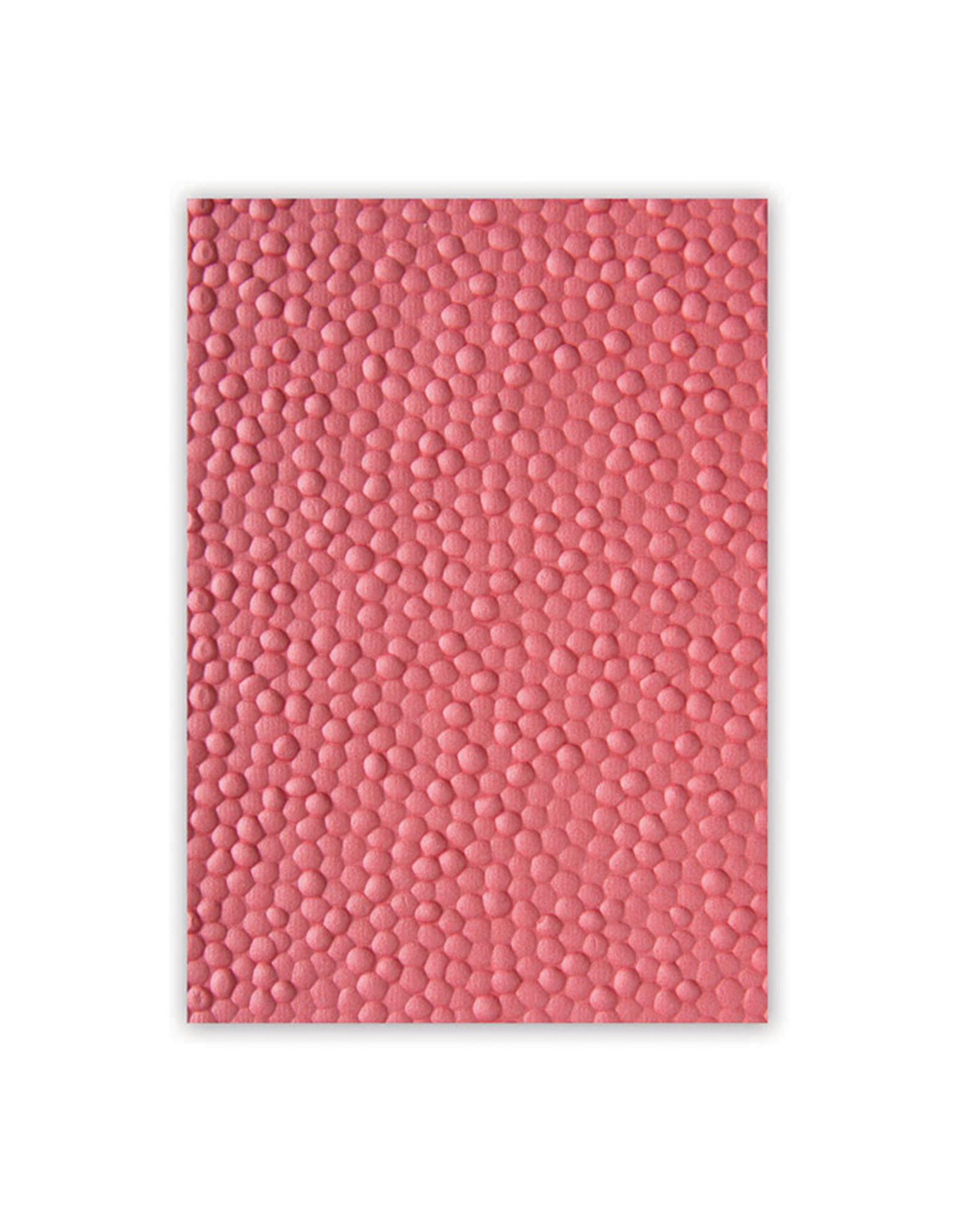 Ellison/Sizzix Cobblestone - 3D Textured Impressions Embossing Folder