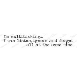Impression Obsession Multitasking  - Cling Stamp