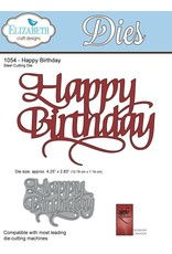 Elizabeth Craft Designs Happy Birthday - Die