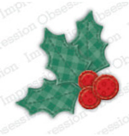 Impression Obsession Patchwork Holly - Die