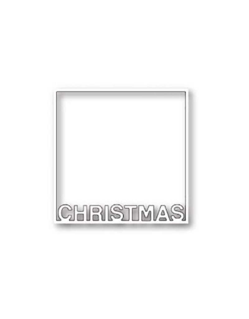 Poppystamps, Inc. Christmas Frame - Die