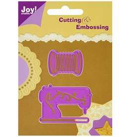 Joy Crafts Sewing Machine/Thread - Die
