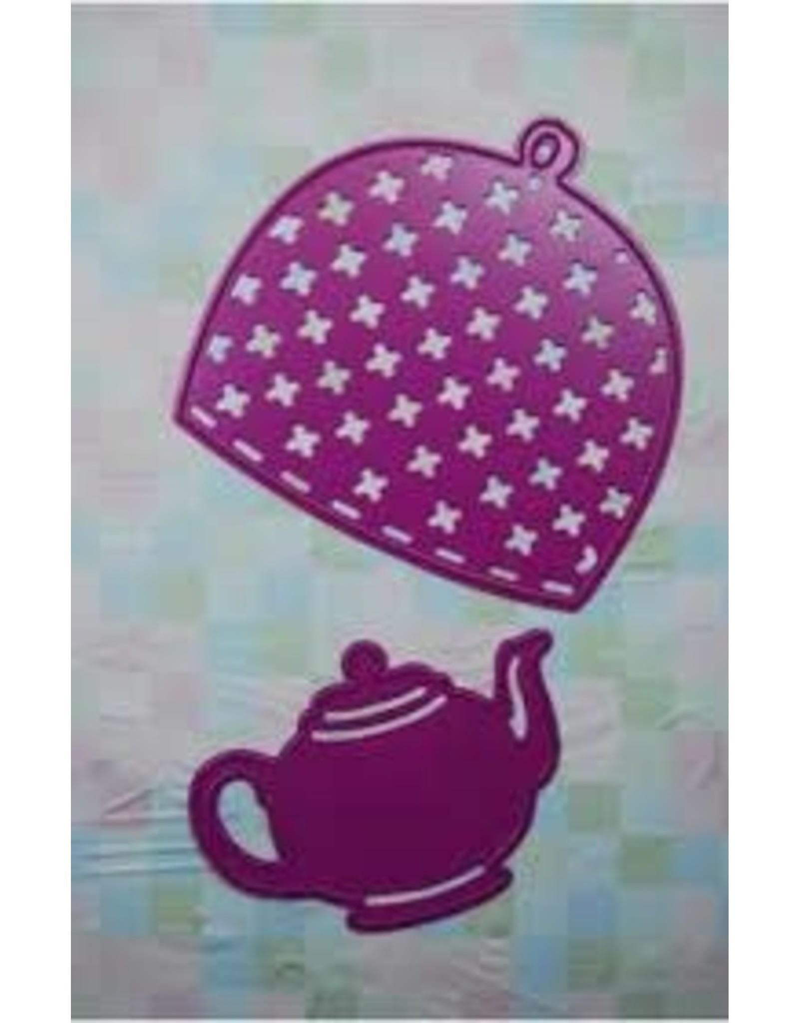Joy Crafts Tea Pot and Warmer - Die