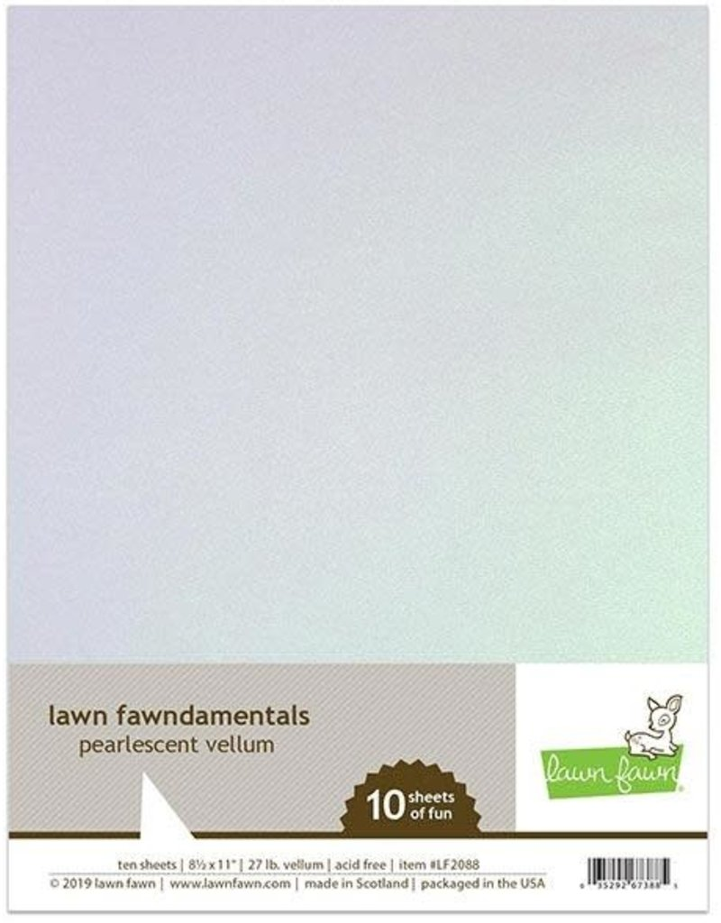 Lawn Fawn Pearlescent Vellum