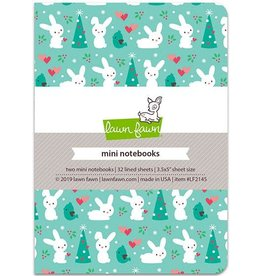 "Lawn Fawn Snowy Day Remix - Mini Notebook 3.5""X5"" 2/Pkg"